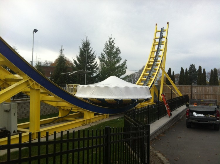 Seabreeze Amusement Park Shrink Wrap Services Amp Products Zap