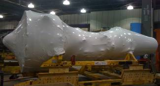 Wrapped Jet Engine